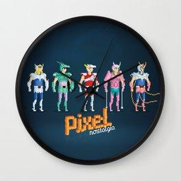 Saint Seiya - Pixel Nostalgia Wall Clock