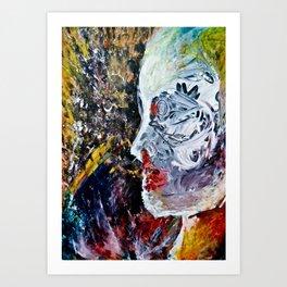 pale woman#2 Art Print