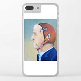 Face Off Clear iPhone Case
