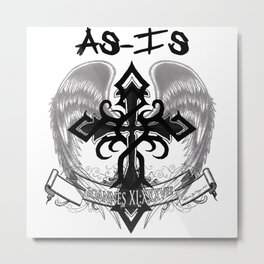 As-Is Metal Print