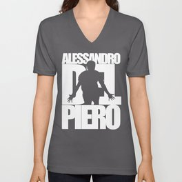 Name: Del Piero Unisex V-Neck