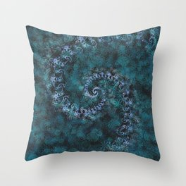 From Infinity - Ocean Throw Pillow