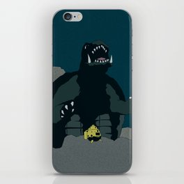 Gamera vs. Zigra iPhone Skin