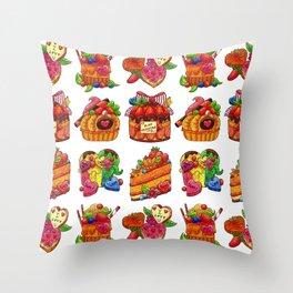 San Valentine Collection Throw Pillow
