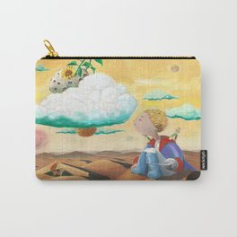 Little Prince with sunflower Carry-All Pouch