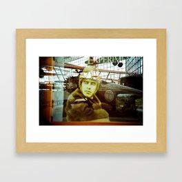 The History of a Pilot Framed Art Print