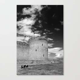 Ukrainian Castle Canvas Print