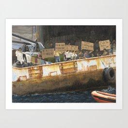 Freedom We Want Art Print