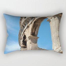 pula croatia ancient arena amphitheatre high Rectangular Pillow
