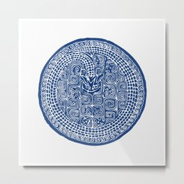 TaoTieWen Metal Print