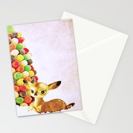 Vintage Fawns by Gumdrop Tree Stationery Cards