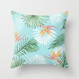 Tropic Palm #society6 #decor #buyart Throw Pillow