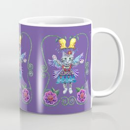 Angel Kitty (Purple) Coffee Mug