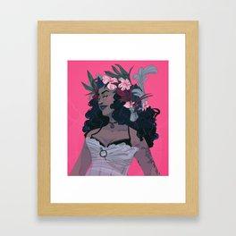 Flower Witch Framed Art Print