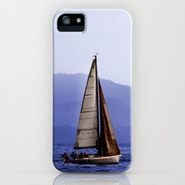 Last Sail of the Day iPhone Case