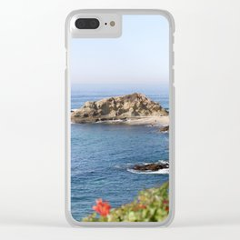 The Lagoon. Clear iPhone Case