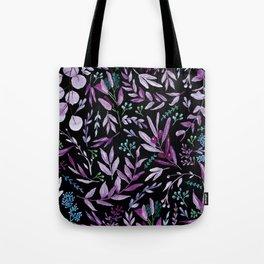 Eucalyptus Violet Tote Bag