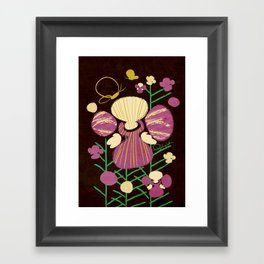 Floral Flower Artprint Framed Art Print