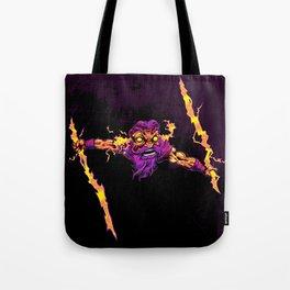 Z is for Zap Happy Zeus  Tote Bag