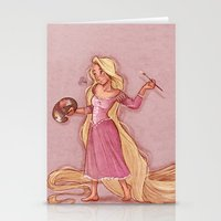 rapunzel Stationery Cards featuring Rapunzel by Laia™