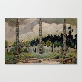 Emily Carr - Tanoo Canvas Print