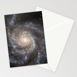 Pin wheel Galaxy Stationery Cards