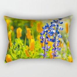 Desert Lupines Rectangular Pillow