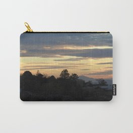 Albuquerque Sunset Silhouette Carry-All Pouch