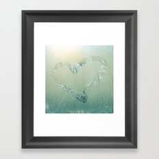 Winter Romance Framed Art Print