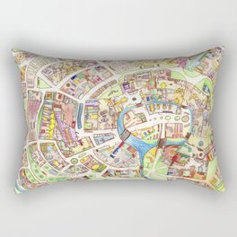 Cityplan Rectangular Pillow