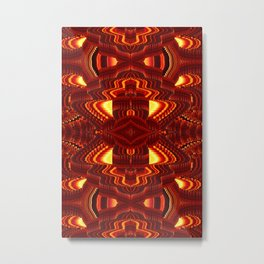 ABSTRACT  Metal Print
