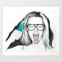 Lead Poison Art Print