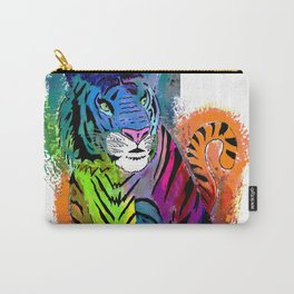 Watercolor Tiger Carry-All Pouch