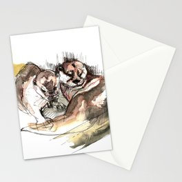 Totem: Asian small-clawed otter (c) 2017 Stationery Cards