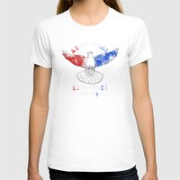 politics T-shirts featuring Dove Politics by Caravan Tshirts