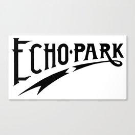 Echo Park Script Canvas Print