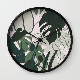 BOHO JUNGLE Wall Clock