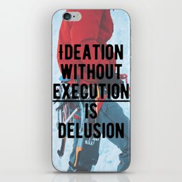 Motivational - Execute is key! iPhone Skin