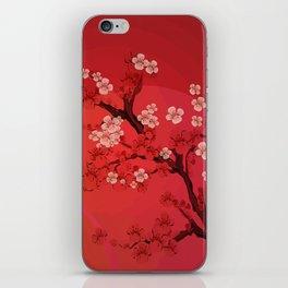 Kirschblütenzweig iPhone Skin