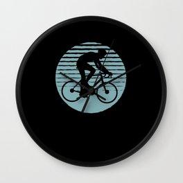 Cyclist Road Bike Cycling Gift Present Idea Wall Clock