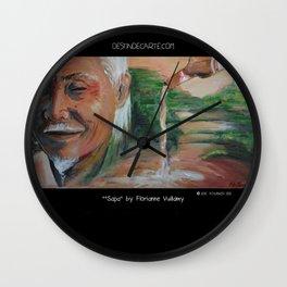 """Sapa"" Illustration Florianne Vuillamy Wall Clock"