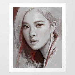 Chae Art Print