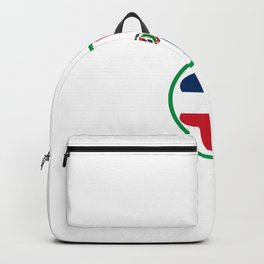 Irish Today Dominican Tomorrow St Patrick's Day design Backpack