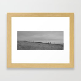 clear out the cobwebs... Framed Art Print