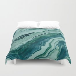 Blue Planet Marble Duvet Cover