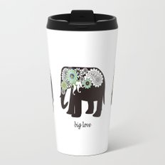 Paisley Elephant - Big Love Travel Mug