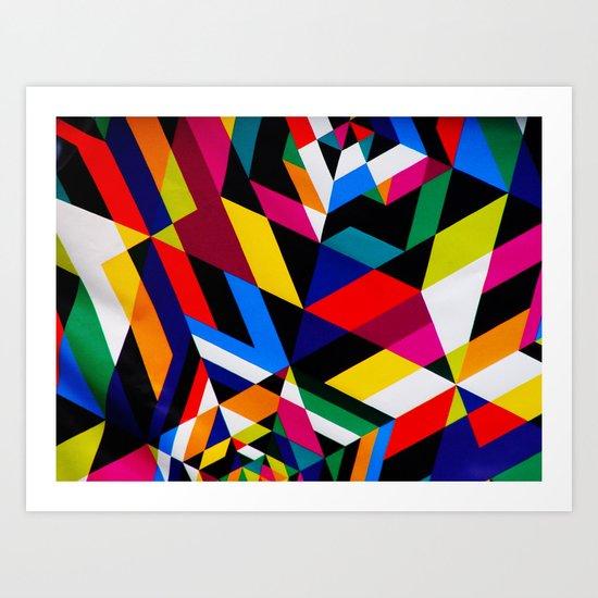 Colors and Design Art Print