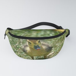 Duckie Portrait - Colorful Fanny Pack