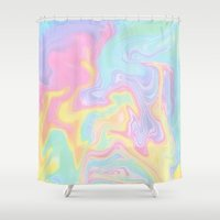 funky Shower Curtains featuring Funky by Pink Berry Patterns