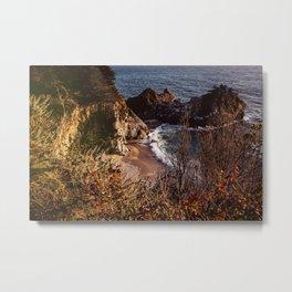 McWay Falls Big Sur Metal Print